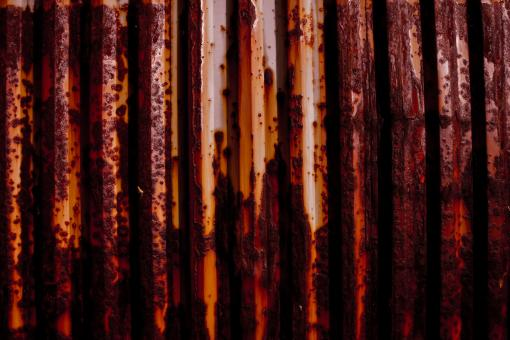 Free Stock Photo of Dark Rusted Metal Texture