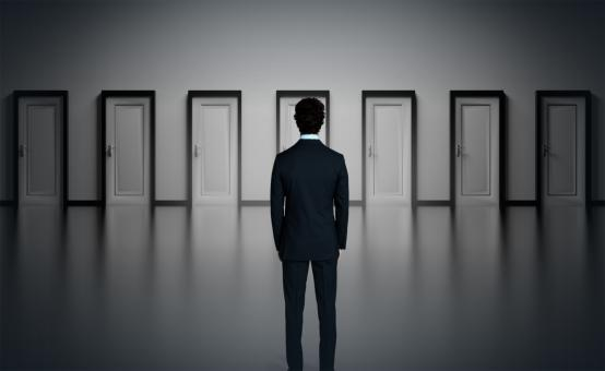 Free Stock Photo of Which Door to Choose - Difficult Choices Concept