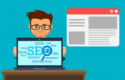 Free Stock Photo of SEO Specialist Illustration