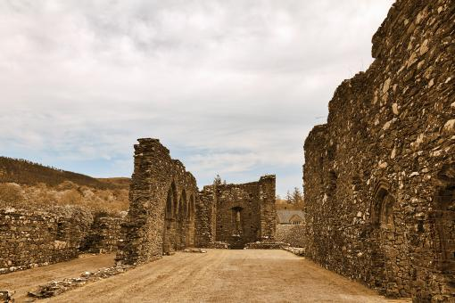 Free Stock Photo of Ancient Ruins of Cymer Abbey