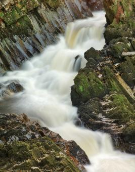 Free Stock Photo of Conwy Column Falls