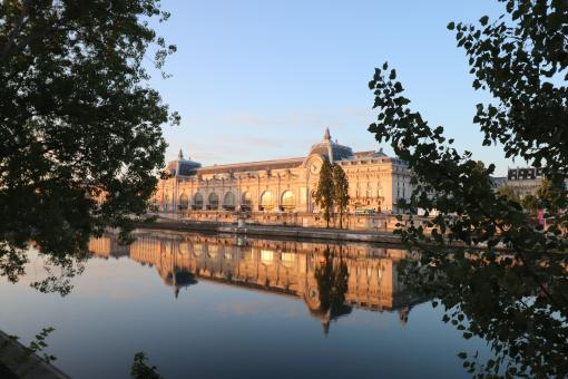 Free Stock Photo of Orsay museum in Paris - early morning