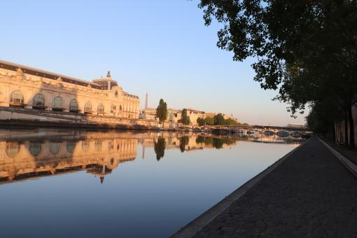 Free Stock Photo of Musée d'Orsay (museum) early in the morning