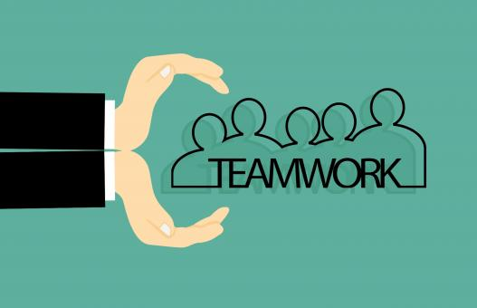 Free Stock Photo of Teamwork Illustration
