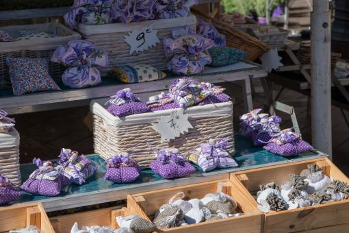 Free Stock Photo of Market - Fragrant lavender pads