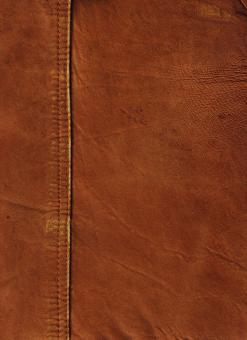 Free Stock Photo of Brown Leather Surface