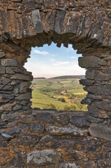 Free Stock Photo of Auchindoun Castle Frame