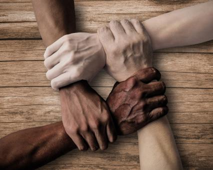 Free Stock Photo of Union - Teamwork - Inclusiveness