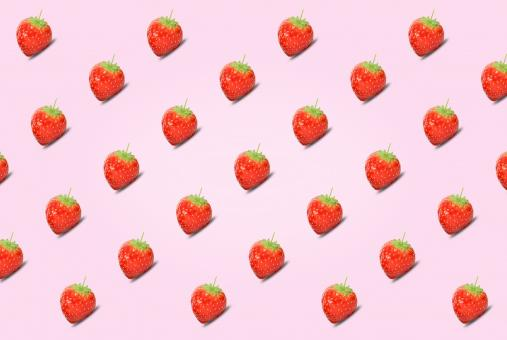 Free Stock Photo of Healthy Eating - Strawberries - Abstract Pattern