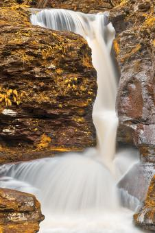 Free Stock Photo of Adams Gold Slot Falls