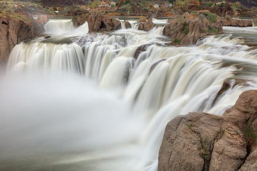 Free Stock Photo of Shoshone Falls