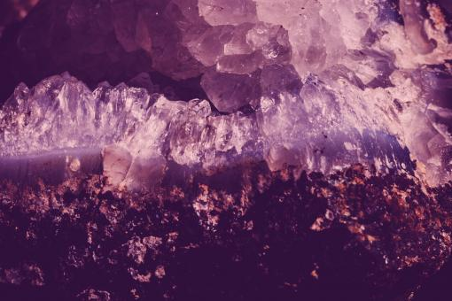 Free Stock Photo of Violet Crystal Background