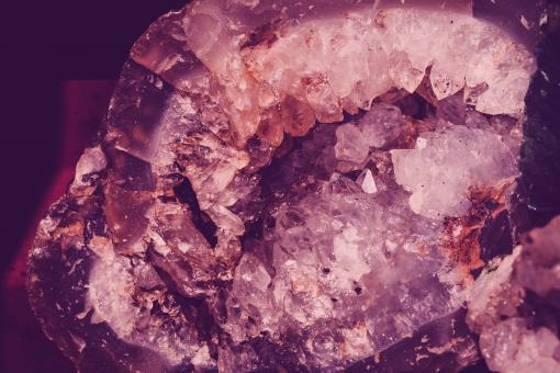 Free Stock Photo of Violet Crystal Texture