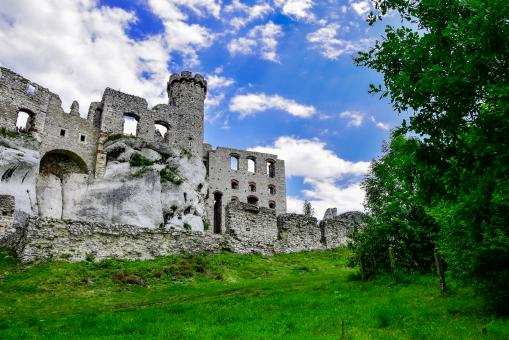 Free Stock Photo of Castle Ogrodzieniec in Poland