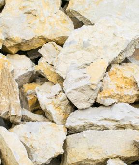 Free Stock Photo of Broken Limestone Rock Texture