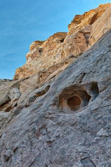 Free Stock Photo of Stone Gaze of Little Wild Horse Canyon