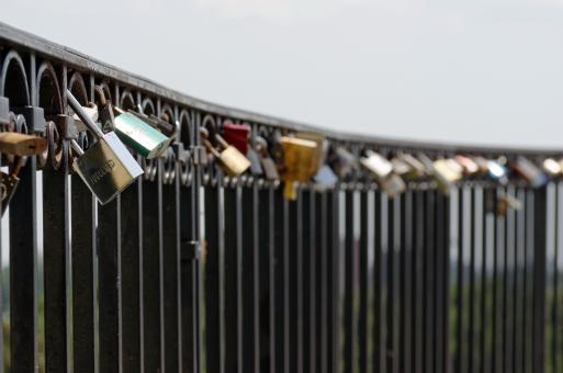 Free Stock Photo of Padlock as Souvenirs