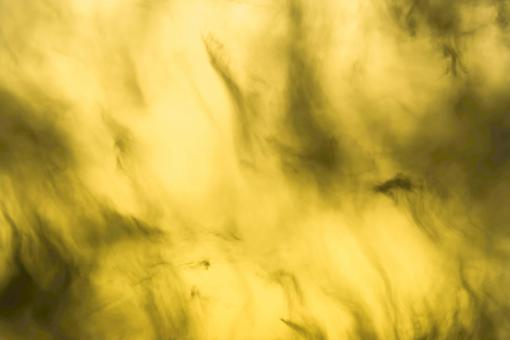Free Stock Photo of Yellow sky and black clouds
