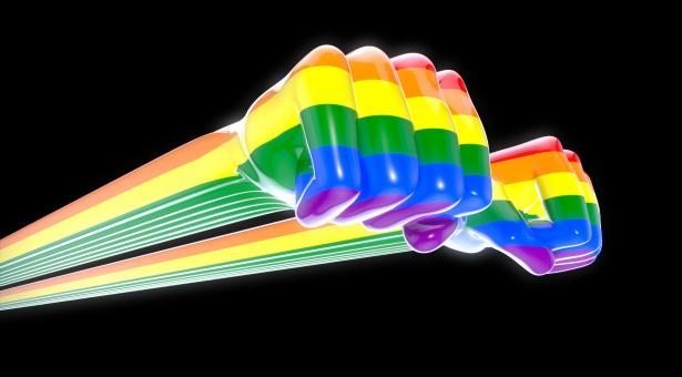Free Stock Photo of Gay fists