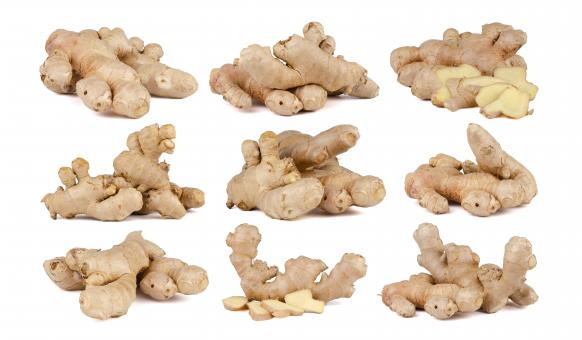 Free Stock Photo of Fresh Ginger Rhizome