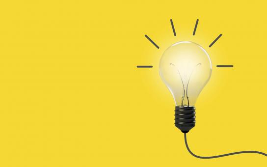 Free Stock Photo of Good Idea - Concept with Light Bulb
