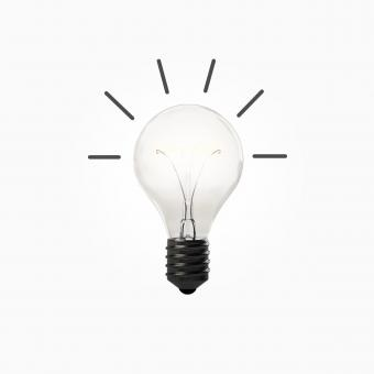 Free Stock Photo of Concept with Light Bulb - Good Idea