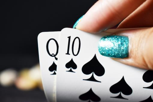 Free Stock Photo of Nail Art and Poker