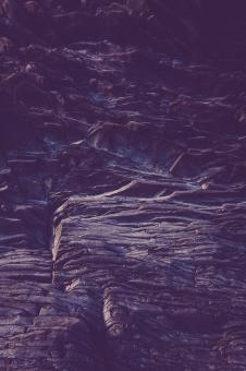 Free Stock Photo of Blue Layered Rock Texture