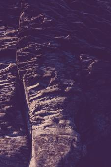 Free Stock Photo of Blue Vintage Rock Formations