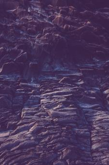Free Stock Photo of Gloomy Rock Formation