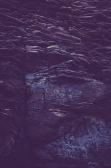 Free Stock Photo of Gloomy Rock Formation Texture