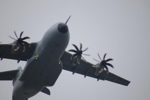 Free Stock Photo of Big military plane close-up