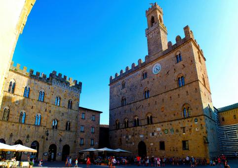 Free Stock Photo of Volterra - Old Town - Palazzo Dei Priori