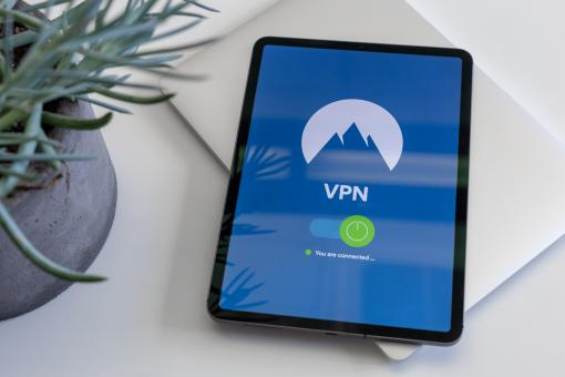 Free Stock Photo of iPad with virtual private network