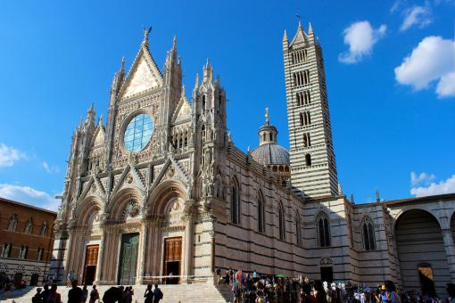 Free Stock Photo of Siena Cathedral