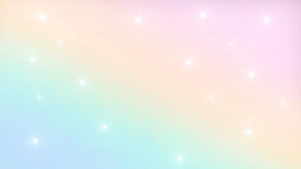 Free Stock Photo of Fairy Magic Background with Rainbow Mesh - Kawaii Universe