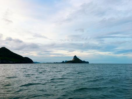 Free Stock Photo of Gulf of Thailand sea view