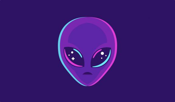 Free Stock Photo of Alien Face - ET - Extraterrestrial - Humanoid