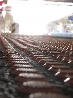 Free Stock Photo of Ground Closeup - View of a train station