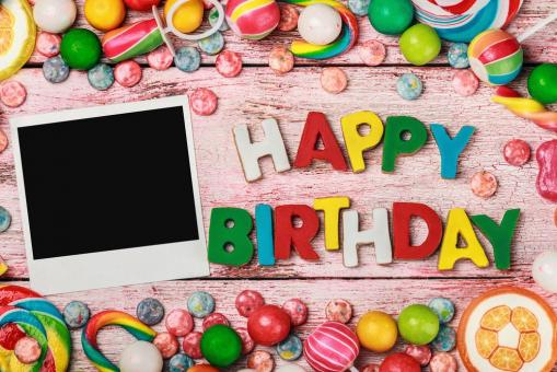Free Stock Photo of Happy Birthday Background