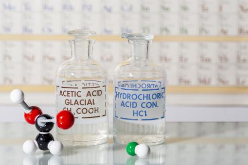 Free Stock Photo of Acids and Chemical Structures