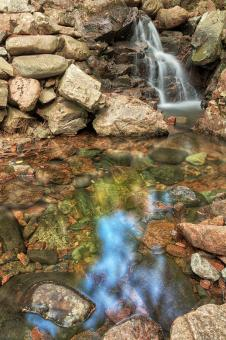 Free Stock Photo of Hadlock Reflex Brook