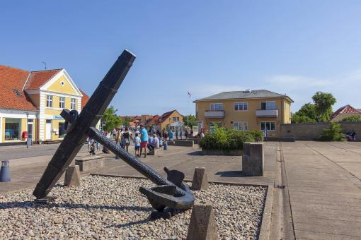 Free Stock Photo of Old Anchor in Skagen