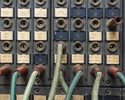 Free Stock Photo of Vintage Circuit Control