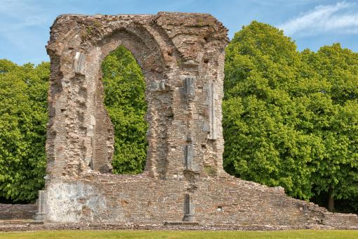 Free Stock Photo of Window Arch Ruins - Neath Abbey