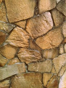 Free Stock Photo of Fragmented Stone Wall Texture