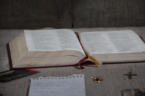 Free Stock Photo of Open Book - The Bible