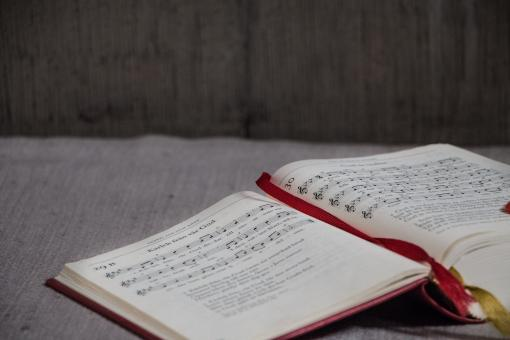Free Stock Photo of Musicians Book - Psalms