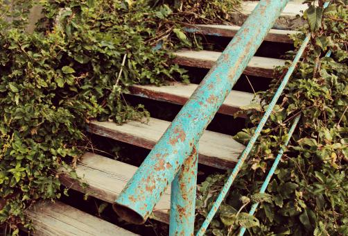 Free Stock Photo of Rusty Stairs