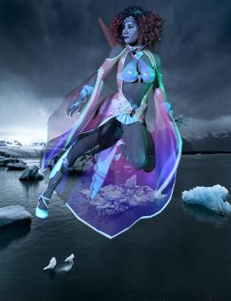 Free Stock Photo of Lady of Ice